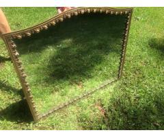 Espejo bronce labrado