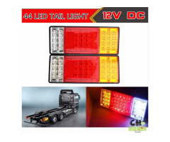 Luces Traseras Tráiler Remolque Camion Por Unidad 12v