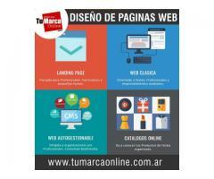 TuMarcaOnline Diseño y Desarrollo de Paginas Web
