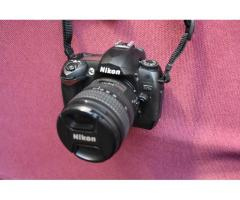 Camara Nikon D70s con zoom 18-70 DX