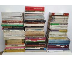 Lote de 70 libros ficcion -cuento-novela-