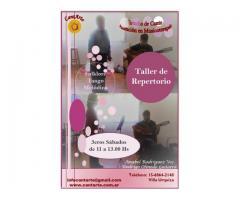 Taller de Repertorio - Canto