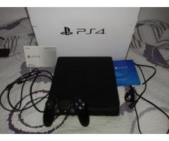 Play station 4 1tb + 6 juegos + 1 joystick COMO NUEVA