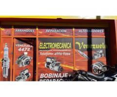 reparacion de arranques y alternadores