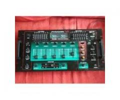 Combo de audio: Sintoamplificador AM-FM-Technics + Mixer Pyramid Vendo
