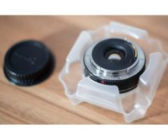 Lente CANON, montura  EF 40 mm f/2.8 STM. -SOLO EFECTIVO-