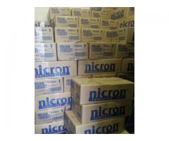 porcelana fria nicron caja x 10 kg