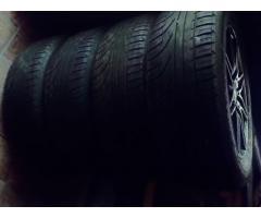Venta ó Canje, cuatro ruedas completas Michelin/Vaska