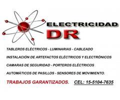 Electricidad DR - luminarias - Instalaciones - Cableados - Tableros eléctricos - Disyuntores