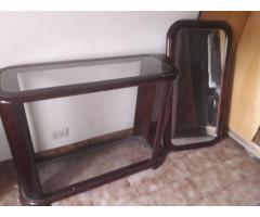 espejo y mesada (grande)