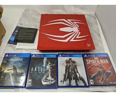 Sony PlayStation Ps4 Pro 1TB Edición limitada Spider-Man