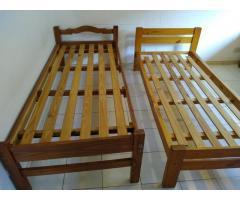 camas 1 plaza. excelentes