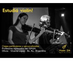 Clases de violín en zona norte Munro Olivos Florida Ballester