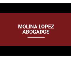 ABOGADO MOLINA LOPEZ. RECLAMA DOBLE INDEMNIZACION