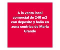 Se vende Local comercial en Maria Grande