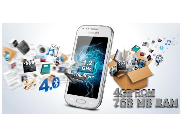 Samsung Galaxy Core Plus Blanco para Claro $1.8 - 3/4