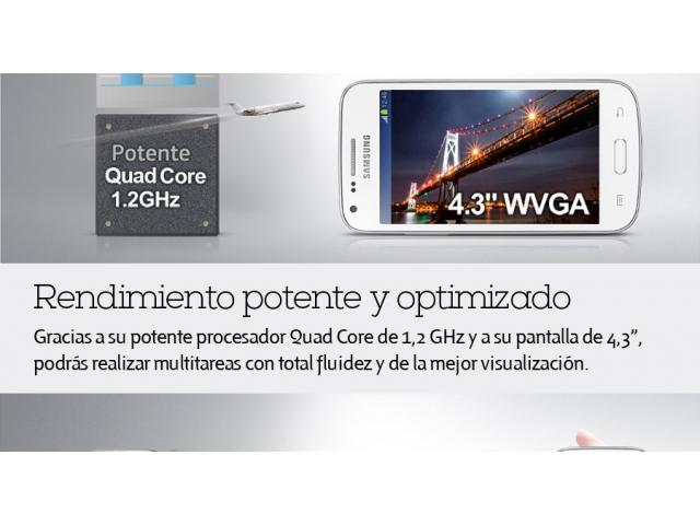 Samsung Galaxy Core Plus Blanco para Claro $1.8 - 4/4