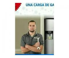 Carga de gas heladera