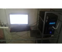PC ESCRITORIO - Intel Core i3 / Monitor 19