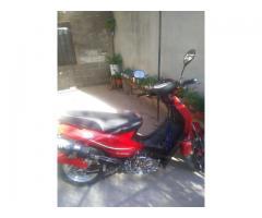 Vendo moto guerrero trip 110