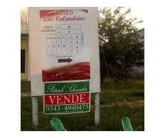 Loteo en venta en zona termal, María Grande