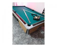 POOL / BILLAR RESTAURADO COMPLETO