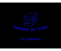 SPEAKERS DJS GROUP - DJ SONIDO Y ILUMINACIÓN