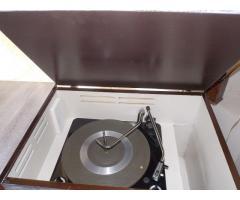 combinado tocadiscos reciclado vintage