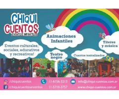 Animaciones Infantiles de 0 a 10 años