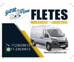 FLETES MUDANZA REPARTOS