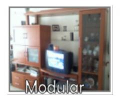 Modular color cerezo Impecable (desmontable)