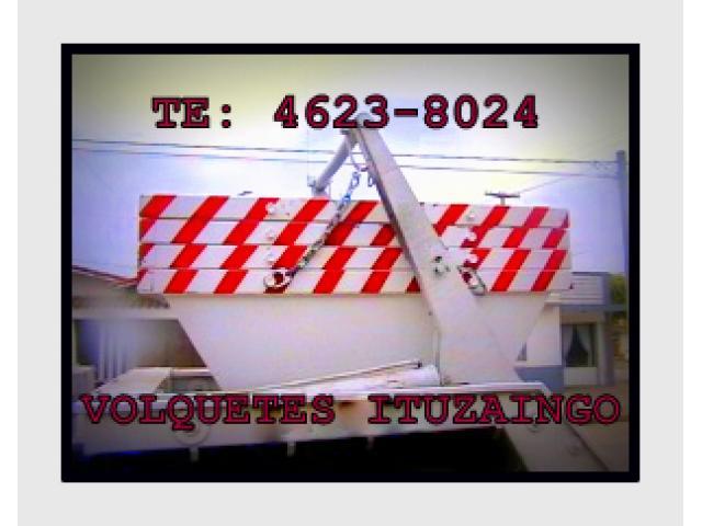 volquetes ituzaingo-alquler de volquetes en zona oeste 1400$ te 46238024/1538158903 - 1/4