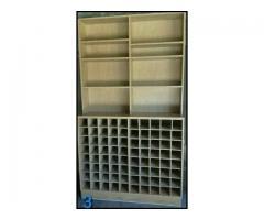 Muebles de fibrofacil (vinoteca o estanteria) - Imagen 2/2