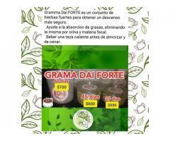 GRAMA DAI FORTE, QUEMADOR DE GRASA, NATURAL