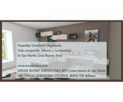 Residencia para estudiantes UNSAM UNTREF CNEA CITEDEF DRAGO