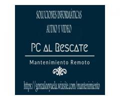 PC AL RESCATE-SOLUCIONES INFORMATICAS