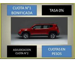 Jeep plan 100% financiado