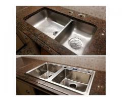 Pegado y reparación de piletas de cocina 1562710460