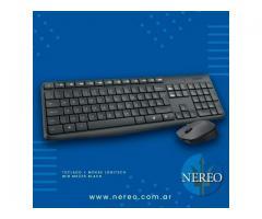 Teclado + Mouse LOGITECH WIR MK235 BLACK