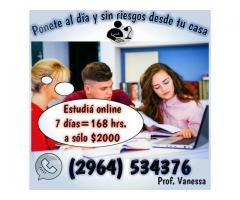 PROFESORA PARTICULAR CLASES ONLINE