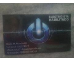 ELECTRICISTA MATRICULADO 24 HRS