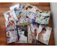 Revistas de NOVIAS Importadas y Nacionales (24 revistas)