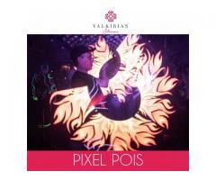 Show Lumínico PIXEL POIS - By Valkirias Shows