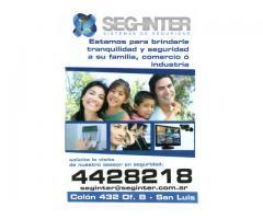 ALARMAS EN SAN LUIS!! SEG-INTER SA
