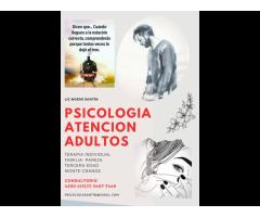 PSICOLOGIA CONSULTORIO ADULTOS ATENCIÓN MONTE GRANDE