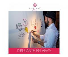 Dibujante en Vivo para Eventos - By Valkirias Shows