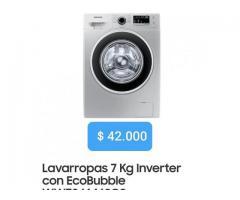 Lavarropas Samsung Inverter