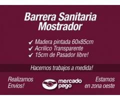 BARRERA SANITARIA MOSTRADOR
