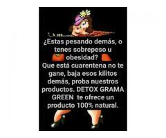 DETOX GRAMA GREEN