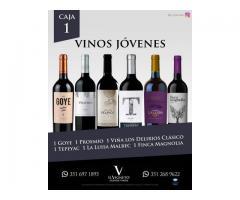 vinos, espumantes,oliva,aceto balsamico y mas,cajas surtidas y trios